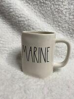 ** NEW ** Rae Dunn MARINE White Glossy Mug 2020