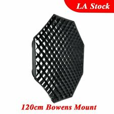Godox 120cm Octagon Grid Honeycomb Bowens Mount Studio Strobe Head Softbox