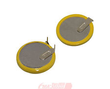 3Pcs CR2430 3V Button Battery Coin Cell with tabs for PLC Backup power supply