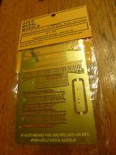 Gold Medal Models HO #8702 Standard Fire Escape Kit -- 2-Sory Add-On Set
