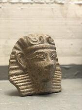 SAMMLERFIGUR HYROGLYPHEN ÄGYPTEN STATUE STEIN OPTIK ÄGYPTISCHE AUFSTELLFIGUR O
