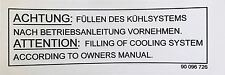 Lotus Carlton/Omega Radiator Cowling Sticker