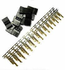 RC Compatible JR Set Male Connector Plug Gold Plated 3 Pin x 10