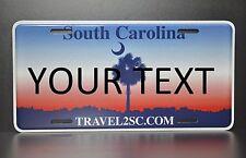 US AUTO USA CAR SOUTH CAROLINA STATE LICENSE PLATE Kennzeichen Nummernschild