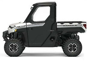 2019 Polaris Ranger 1000 Pearl White Factory Door Decal Kit