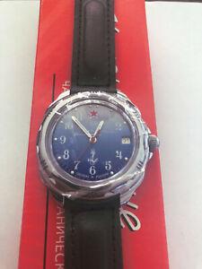 Vostok Komandirskie 211289 Mechanical Russian Mens Watch