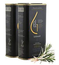 Pellas Nature   Fresh Organic Rosemary Infused Extra Virgin Olive Oil   2 Pack