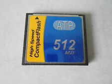 ATP 512MB Compact Flash Picture Memory Card CF AF512CF FREE SHIPPING