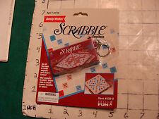 UNUSED-SEALED--SCRABBLE Keychain from Basic Fun 1999
