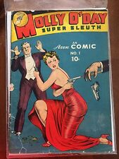 Molly O'Day Super Sleuth Comic #1 no.1 - Avon Comic