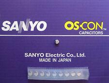 10pcs Oscon Sanyo SMD OS-CON 220µF/6,3V