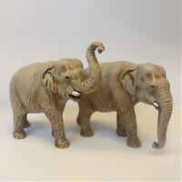 Elefanti 2 soggetti Moranduzzo Landi 3.5 cm | Presepe Personaggi Statuine