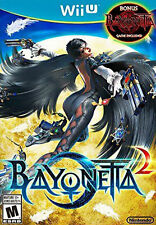 Nitendo Wii U Bayonetta 2, Bonus Bayonetta 1 game included, Excellent condition