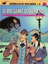 BD cotée Sherlock Holmes Le Rat Géant du Sumatra Lefrancq