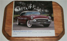 1955 Buick Roadmaster Riviera 2 dr ht Car Plaque