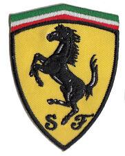Ferrari shield embroidered patch