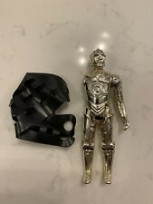 Vintage 1982 Star Wars C-3PO Removeable Parts & Bag - Missing One Arm