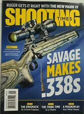 Shooting Times May 2017 Savage Makes 338s Winchester Rifle Guns FREE SHIPPING sb