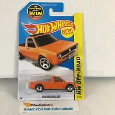 Volkswagen Caddy #124 * Orange * 2015 Hot Wheels * NH11