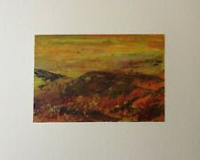 `The Vale of Glamorgan.S.Wales.` Original Signed Painting in a Mixed Medium
