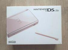 Console Nintendo DS Lite Metallic Rose en Boîte - Complet - TBE - Envoi Gratuit