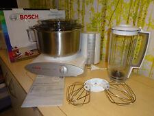 Bosch Küchenmaschine MUM 6, 1000W, Edelstahlschüssel, Herstellergarantie