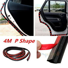 "157"" 4M P-Type Car Truck Van Door Rubber Seal Hollow Strip Weatherstrip Sealing"