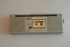 SENCOR S3000 Rare MICROCASSETTE Recorder BOOMBOX Japan COLLECTABLE FM RADIO