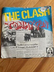 "the clash tommy gun 7"" vinyl record"