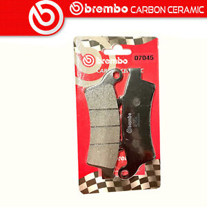 Brake Pads BREMBO Carbon Ceramic Front For Peugeot Trekker 125 150 2003 >
