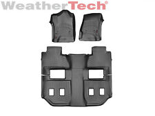 WeatherTech FloorLiner for Suburban/Yukon XL w/Bucket Seats - 2015-2019 - Black