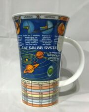 Dunoon The Night Sky Stars Solar System Informative Glencoe Mug Tea Coffee Large