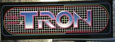 "Tron Arcade Marquee Reproduction 23"" x 7.75"""