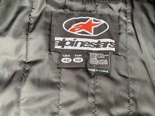 alpinestars mens leather jacket 42 Inch chest 52 EU Excellent Condition