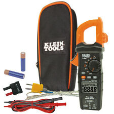 Klein Tools CL800 Digital AC TRMS Low Impedance Auto-Range Clamp Meter Kit New