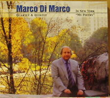 """CD MARCO di Marco a New York """"My Poetry"""" Pastels 2002"""