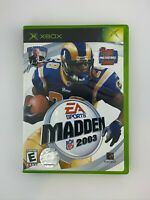 Madden NFL 2003 - Original Xbox Game - Complete & Tested