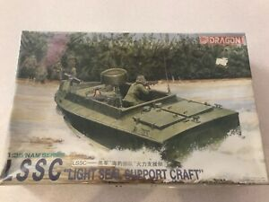 "Dragon  LSSC Light SEAL Support Craft.  1/35.  ""Nam series.  Plastic model kit"
