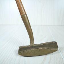 Vintage Hickory Shaft Golf Putter Otey Crisman RH First Flight
