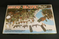 All Original Marx Playset #4164 History in the Pacific Mint + Box