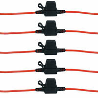 Hot Sale 5 x auto in linea lama portafusibili impermeabile Splash Proo gf