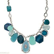 Silpada Sterling Silver Charm Necklace N2321 Amazonite Agate Howlite Quartz $189