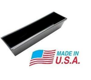 "14"" Advance 14P Plastic Mudpan Rounded Bottom Drywall Mud Pan w/ Steel Edge USA"