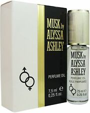 Musk By Alyssa Ashley Perfume Oil For Women 0.25 oz