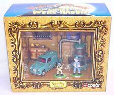 Corgi Toys 1:43 WALLACE & GROMIT THE CURSE OF THE WERE RABBIT Car Set MIB`05!