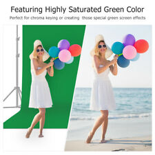 2 x3m Photography Studio Background Support Stand Green Screen Backdrop Washable