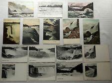 Lot Antique Postcards Niagara Falls Many Views Rock of Ages Goat Island