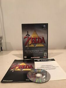 Legend of Zelda Collectors Edition Promotional Disc Gamecube - COMPLETE TESTED