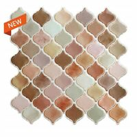 Self Adhesive Wall Tile 3D Mosaic Sticker DIY Kitchen Bathroom Home Decor 10inch