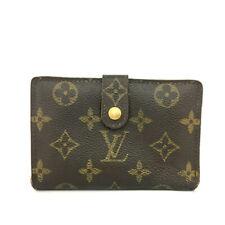 Louis Vuitton Monogram Porte Monnaie Billets Viennois Bifold Wallet /90860